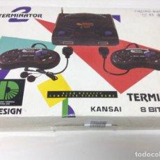 Videojuegos y Consolas - CONSOLA TERMINATOR 2 . 8 BIT . CLONICA FAMICOM - 107946744