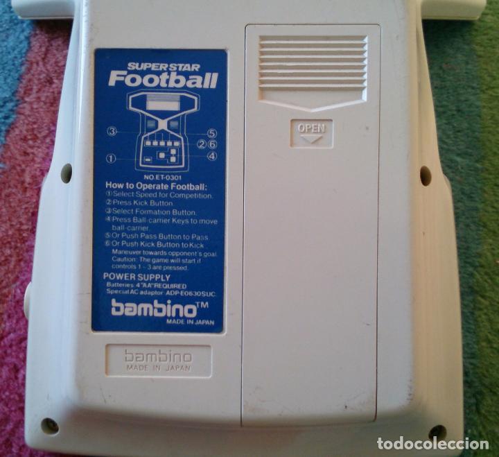 Videojuegos y Consolas: Máquina Consola Football de Bambino, made in Japan - Foto 2 - 73937867