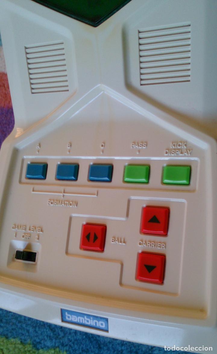 Videojuegos y Consolas: Máquina Consola Football de Bambino, made in Japan - Foto 4 - 73937867