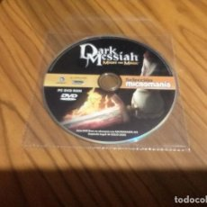 Videojuegos y Consolas: DARK MESSIAH. PC DVD ROM. MICROMANIA 193. SOLO CD. BUEN ESTADO. Lote 75652219