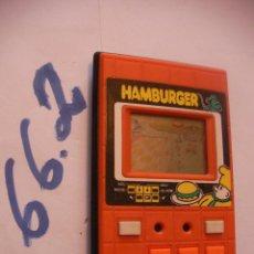 Videojuegos y Consolas: ANTIGUA CONSOLA HAMBURGER. Lote 75921523