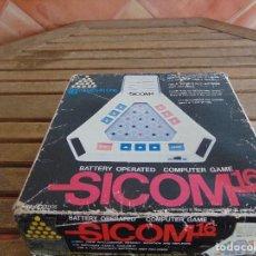 Videojuegos y Consolas: COMPUTADORA JUEGO MAQUINITA SICOM 1981 YONEZAWA TOYS 16 GAMES IN ONE TOKIO JAPAN. Lote 76087775