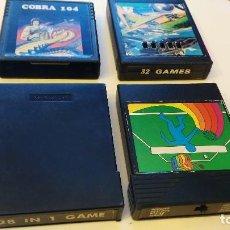 Videojuegos y Consolas: COBRA 104 - 128 IN 1 GAME - 32 GAMES - OTRO. Lote 76193975