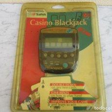 Videojuegos y Consolas: SAITEK CONSOLA CASINO BLACKYACK NUEVA A ESTRENAR AÑOS 80. Lote 76474907