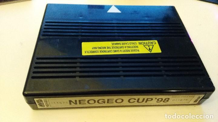 NEO GEO CUP 98 MVS NEO GEO ARCADE CARTUCHO PROBADO (Juguetes - Videojuegos y Consolas - Otros descatalogados)