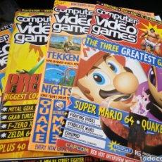 Videojuegos y Consolas: COMPUTER AND VIDEO GAMES. AÑOS 90. REVISTA INGLESA DE VIDEOJUEGOS. NUEVAS. VER DESCRIPCIÓN.. Lote 78902350