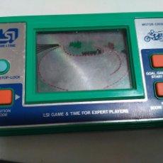 Videojuegos y Consolas: LSI MOTOR-CROSS MOTOCROSS GAME & TIME LCD VINTAGE GAME GIOCO LCD AÑOS 80. Lote 79180725