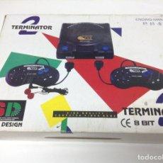 Videojuegos y Consolas - CONSOLA TERMINATOR 2 . 8 BIT . CLONICA FAMICOM - 79662961