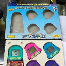 Videojuegos y Consolas: JUEGO MAQUINITA LCD TIPO GAME & WATCH CON PANTALLAS ITERCAMBIABLES. Lote 118752478