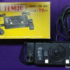 Videojuegos y Consolas: ANTIGUA CONSOLA TEMCO. MODEL: T-800. TV GAME. TENNIS, HOCKEY, SQUASH, PRACTICE. . Lote 81413928