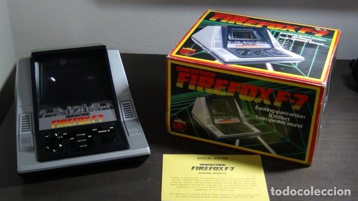 JUEGO ELECTRÓNICO GRANDSTAND FIREFOX F-7 CON SU CAJA- JAPÓN 1983 - FUNCIONANDO - VER VIDEO (Juguetes - Videojuegos y Consolas - Otros descatalogados)