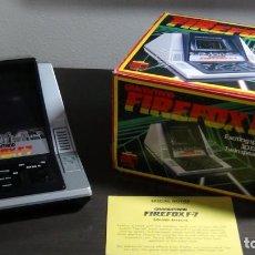 Videojuegos y Consolas: JUEGO ELECTRÓNICO GRANDSTAND FIREFOX F-7 CON SU CAJA- JAPÓN 1983 - FUNCIONANDO - VER VIDEO. Lote 82098080