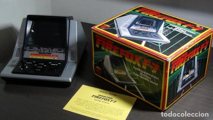 Videojuegos y Consolas: Juego electrónico Grandstand Firefox F-7 con su caja- Japón 1983 - FUNCIONANDO - VER VIDEO - Foto 2 - 82098080