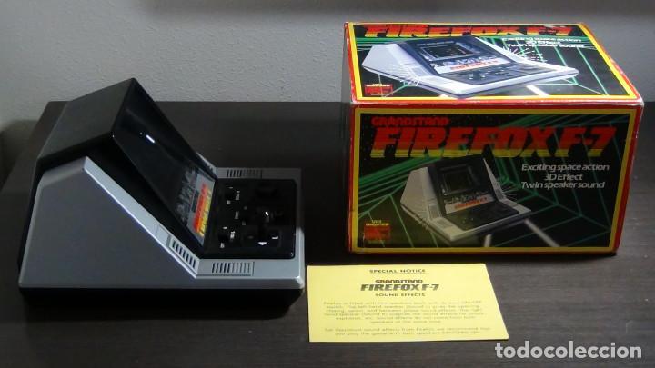 Videojuegos y Consolas: Juego electrónico Grandstand Firefox F-7 con su caja- Japón 1983 - FUNCIONANDO - VER VIDEO - Foto 4 - 82098080