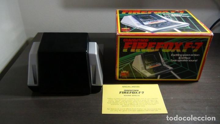 Videojuegos y Consolas: Juego electrónico Grandstand Firefox F-7 con su caja- Japón 1983 - FUNCIONANDO - VER VIDEO - Foto 5 - 82098080