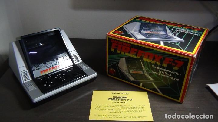 Videojuegos y Consolas: Juego electrónico Grandstand Firefox F-7 con su caja- Japón 1983 - FUNCIONANDO - VER VIDEO - Foto 6 - 82098080