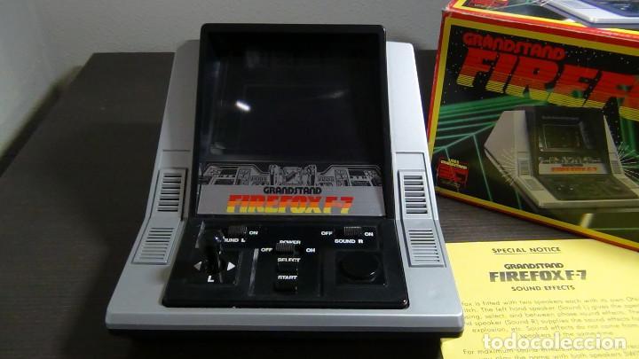 Videojuegos y Consolas: Juego electrónico Grandstand Firefox F-7 con su caja- Japón 1983 - FUNCIONANDO - VER VIDEO - Foto 7 - 82098080