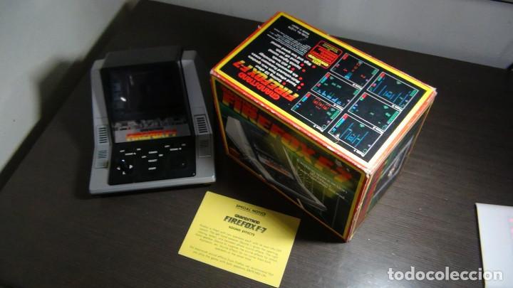 Videojuegos y Consolas: Juego electrónico Grandstand Firefox F-7 con su caja- Japón 1983 - FUNCIONANDO - VER VIDEO - Foto 8 - 82098080