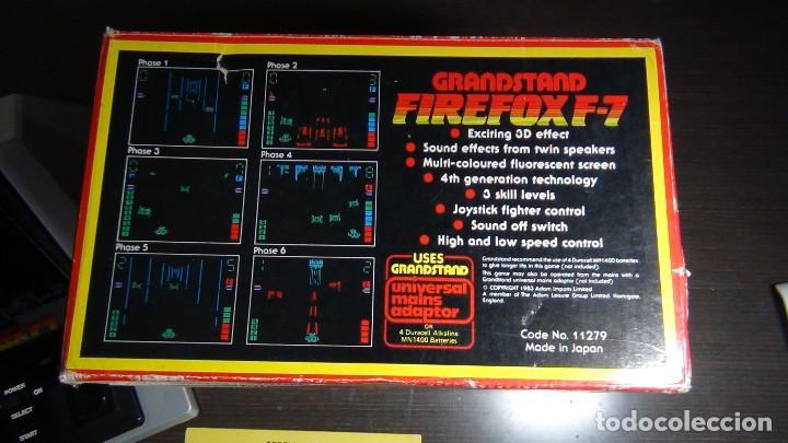 Videojuegos y Consolas: Juego electrónico Grandstand Firefox F-7 con su caja- Japón 1983 - FUNCIONANDO - VER VIDEO - Foto 9 - 82098080