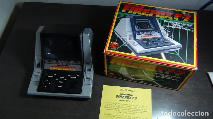 Videojuegos y Consolas: Juego electrónico Grandstand Firefox F-7 con su caja- Japón 1983 - FUNCIONANDO - VER VIDEO - Foto 10 - 82098080
