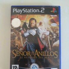 Videojuegos y Consolas: JUEGO EL SEÑOR DE LOS ANILLOS.. Lote 83113918