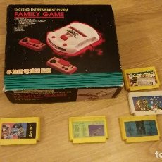 Videojuegos y Consolas: FAMILY GAME - VIDEO CONSOLA-HOME GAME- VIDEO GAME 60-72 PINS - CARTRIDGE CONVERTER. Lote 83607656