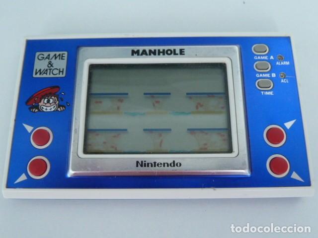 MAQUINA GAME WATCH MANHOLE DE NINTENDO MODELO NH-103 AÑO 1983 (Juguetes - Videojuegos y Consolas - Otros descatalogados)