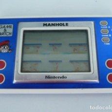 Videojuegos y Consolas - MAQUINA GAME WATCH MANHOLE DE NINTENDO MODELO NH-103 AÑO 1983 - 87088752