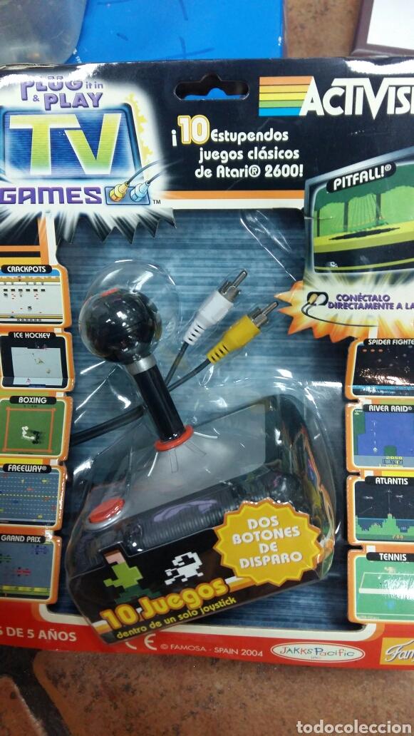 VIDEOCONSOLA RETRO FAMOSA TV GAMES (Juguetes - Videojuegos y Consolas - Otros descatalogados)