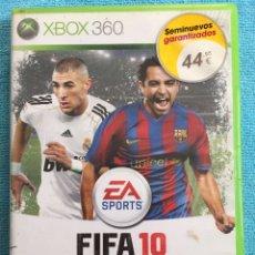 Videojuegos y Consolas: JUEGO FIFA 10 - XBOX 360. Lote 88832492