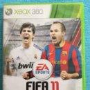 Videojuegos y Consolas: JUEGO FIFA 11 - XBOX 360. Lote 165575669