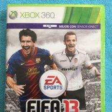 Videojuegos y Consolas: JUEGO FIFA 13 - XBOX 360. Lote 88832750