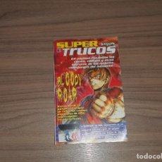 Videojuegos y Consolas: GUIA TRUCOS BLOODY ROAR - BUSHIDO BLADE ETC.. PLAYSTATION - SEGA SATURN - NINTENDO 64. Lote 89097876