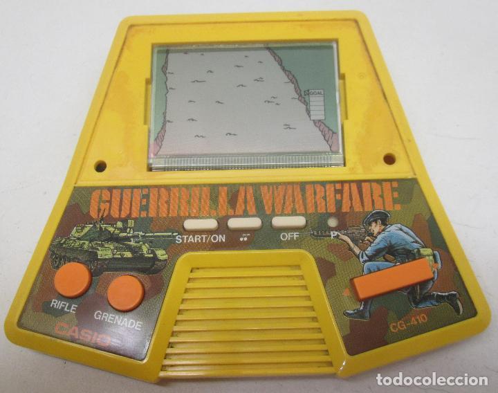 GUERRILLA WARFARE MAQUINITA LCD 1987 CASIO (Juguetes - Videojuegos y Consolas - Otros descatalogados)