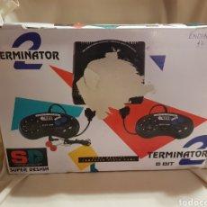 Videojuegos y Consolas: CONSOLA TERMINATOR 2 8 BIT ENDING-MAN ENDING MAN SUPER DESIGN. Lote 89956254