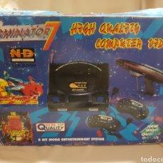 Videojuegos y Consolas: CONSOLA TERMINATOR 7 NEW DESIGN 8 BIT. Lote 89960066