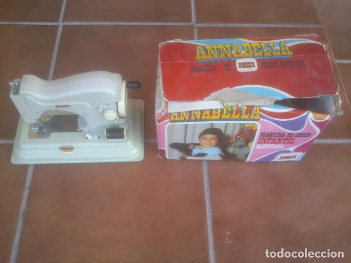 MAQUINA DE COSER INFANTIL ANNABELLA EUREK (Juguetes - Videojuegos y Consolas - Otros descatalogados)