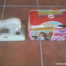 Videojuegos y Consolas: MAQUINA DE COSER INFANTIL ANNABELLA EUREK. Lote 90225820