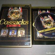 Videospiele und Konsolen - 918- JUEGO COSSACKS ANTHOLOGY ( PC DVD ROM ) AÑO 1997/2007 CASTELLANO - 90341992