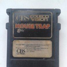 Videojuegos y Consolas: JUEGO CBS COLECO VISION,MOUSE TRAP,AÑO 1983.SIMIL ATARI,MSX,NES,AMSTRAD,SPECTRUM. Lote 90351584