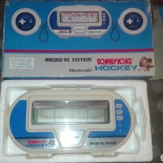 Videojuegos y Consolas: CONSOLA MICRO VS SYSTEM NINTENDO DONKEY KONG HOCKEY..EN PERFECTO ESTADO. Lote 91317542