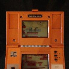 Videojuegos y Consolas: DONKEY KONG NINTENDO 1982 MULTIPANTALLA GAME WATCH DK-52 POCKETSIZE MULTI SCREEN. Lote 92216765