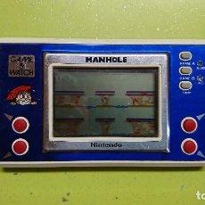 Videojuegos y Consolas: CONSOLA, GAME&WATCH MANHOLE, NINTENDO. Lote 93403030