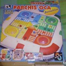 Videojuegos y Consolas: ANTIGUO PARCHIS Y JUEGO DE LA OCA EN CAJA ORIGINAL. Lote 93936125