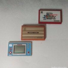 Videojuegos y Consolas: 3 NINTENDO GAME & WATCH SUPER MARIO BROS, SAFEBUSTER Y DONKEY KONG. Lote 94601207