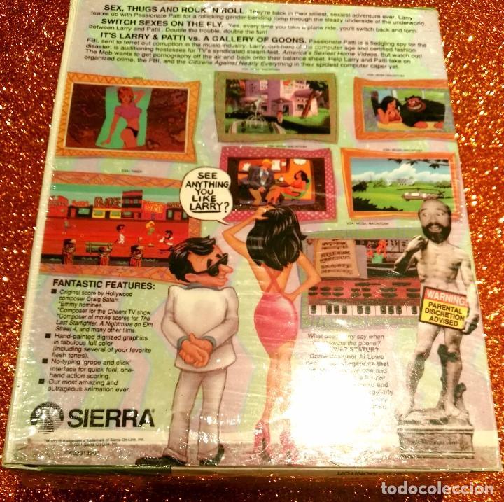 Videojuegos y Consolas: VIDEOJUEGO LARRY 5 PRECINTADO (MAC) PRIMERA EDICIÓN EEUU. SIERRA, TAGS: PC, AMIGA, ATARI, LUCASARTS - Foto 2 - 94946495