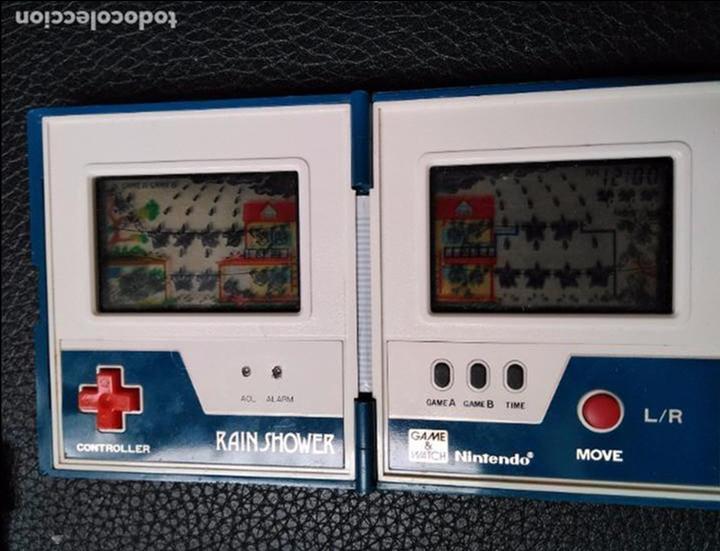 Videojuegos y Consolas: GAME WATCH RAIN SHOWER DE NINTENDO - Foto 2 - 94993075