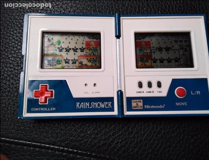 Videojuegos y Consolas: GAME WATCH RAIN SHOWER DE NINTENDO - Foto 3 - 94993075