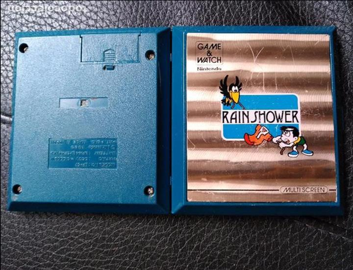 Videojuegos y Consolas: GAME WATCH RAIN SHOWER DE NINTENDO - Foto 4 - 94993075