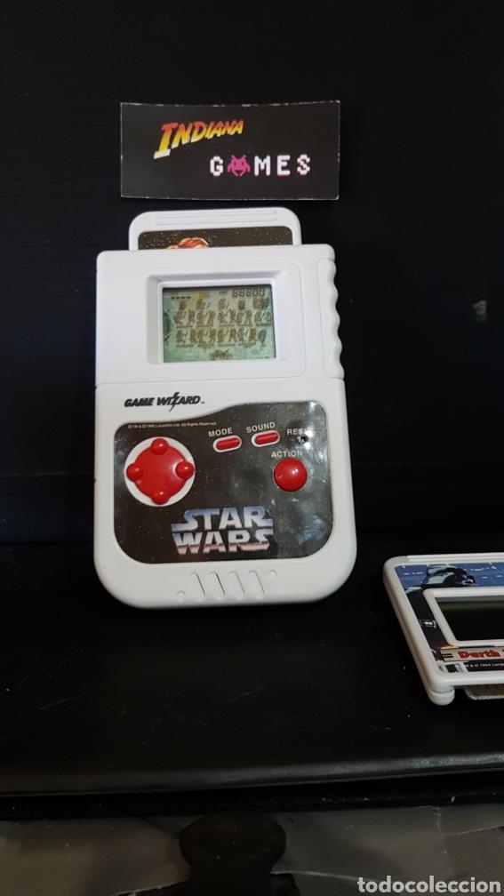 Videojuegos y Consolas: ARCADE LCD GAME WIZARD 1995 STAR WARS HANDHELD + 2 JUEGOS - Foto 5 - 95293604